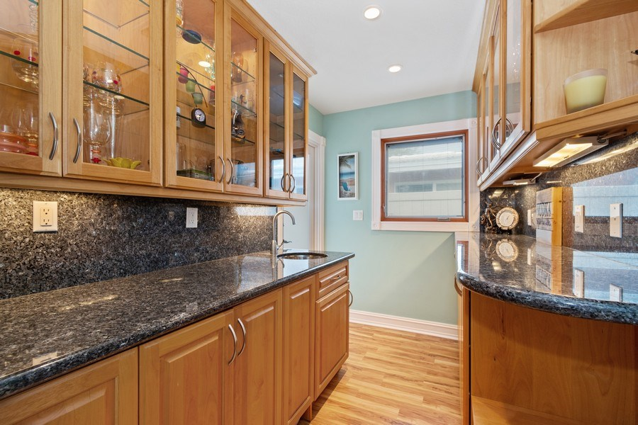 Real Estate Photography - 2113 NE 63rd St, Fort Lauderdale, FL, 33308 - Butlers Pantry
