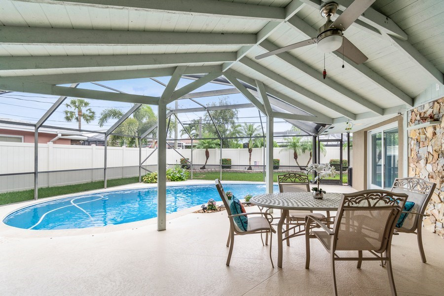 Real Estate Photography - 2113 NE 63rd St, Fort Lauderdale, FL, 33308 - Patio