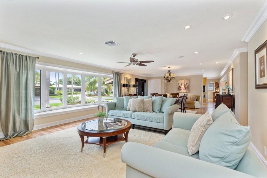 Real Estate Photography - 2113 NE 63rd St, Fort Lauderdale, FL, 33308 - Living Room/Dining Room