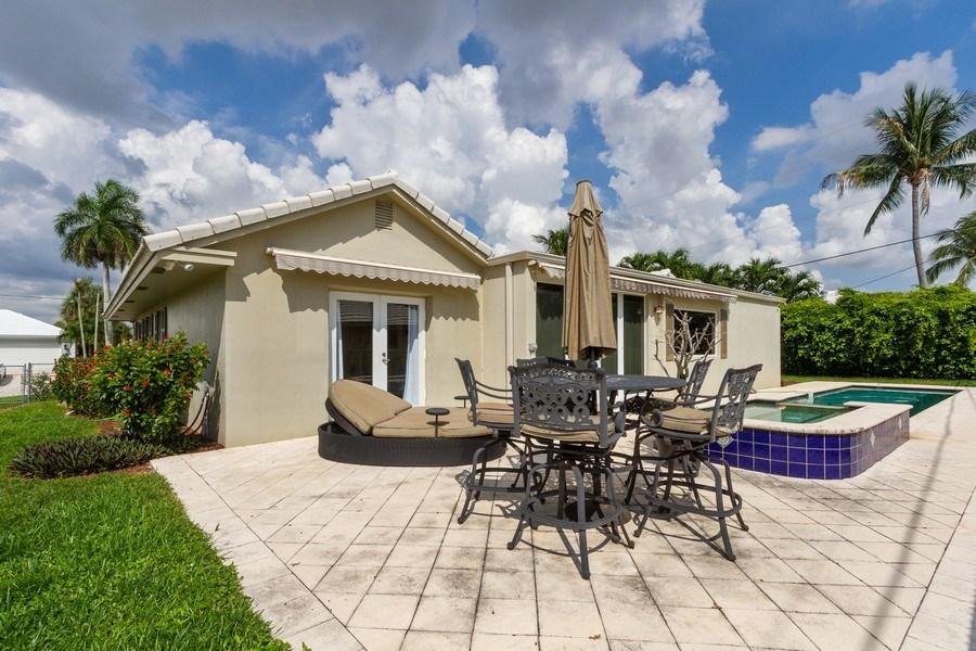 Real Estate Photography - 951 Holly Ln, Boca Raton, FL, 33486 - Back Yard