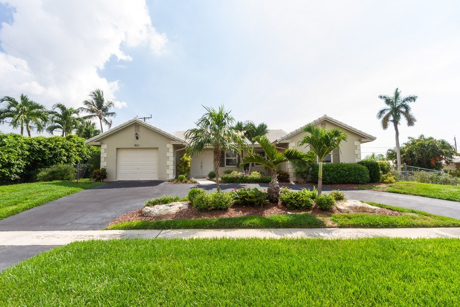 Real Estate Photography - 951 Holly Ln, Boca Raton, FL, 33486 - Front View