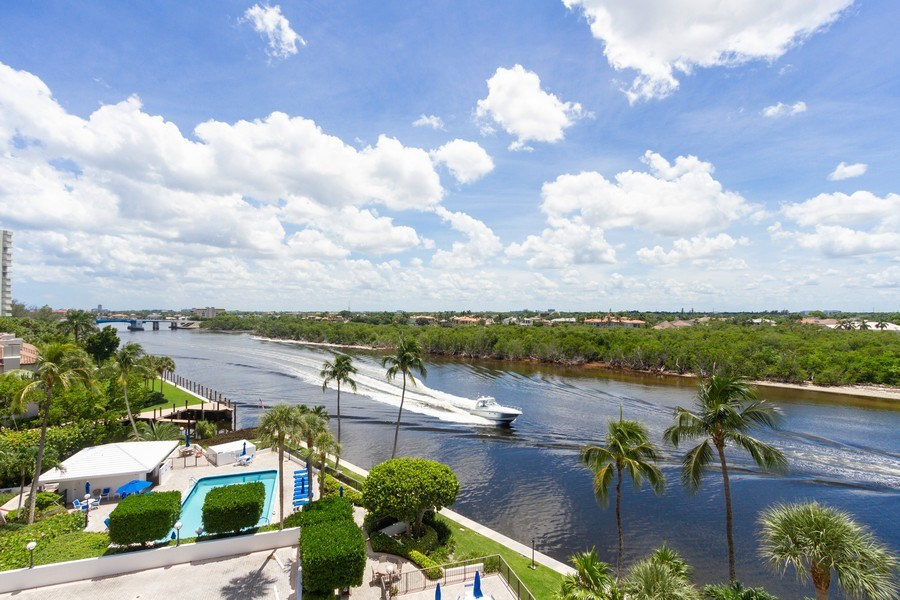 Real Estate Photography - 4750 S Ocean Blvd, Unit 605, Highland Bch, FL, 33487 - View