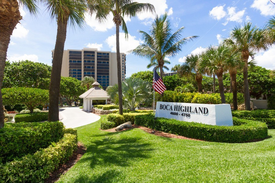 Real Estate Photography - 4750 S Ocean Blvd, Unit 605, Highland Bch, FL, 33487 -