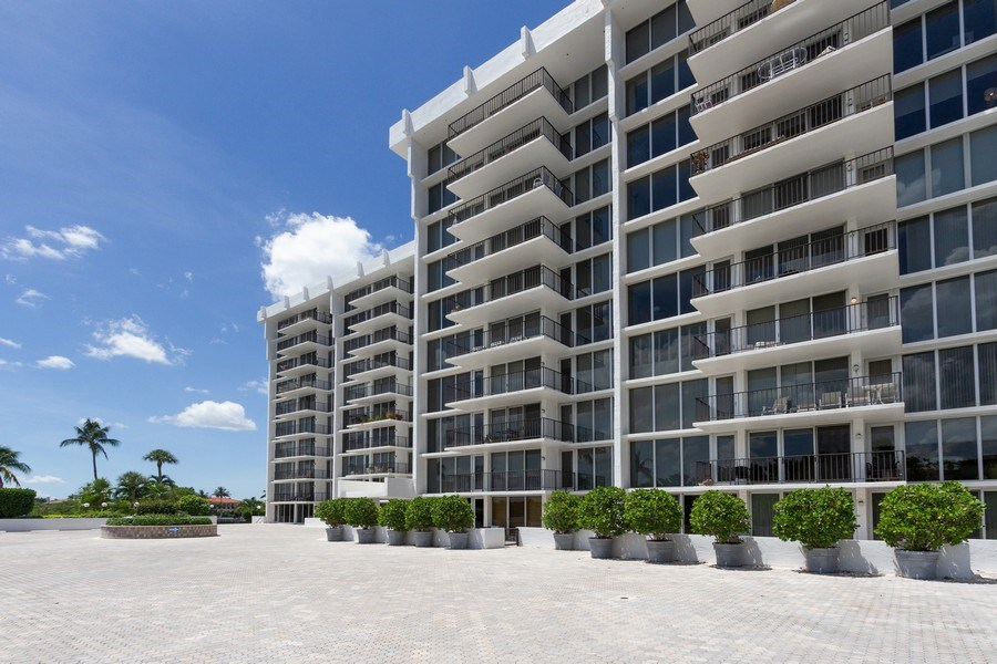 Real Estate Photography - 4750 S Ocean Blvd, Unit 605, Highland Bch, FL, 33487 - Front View
