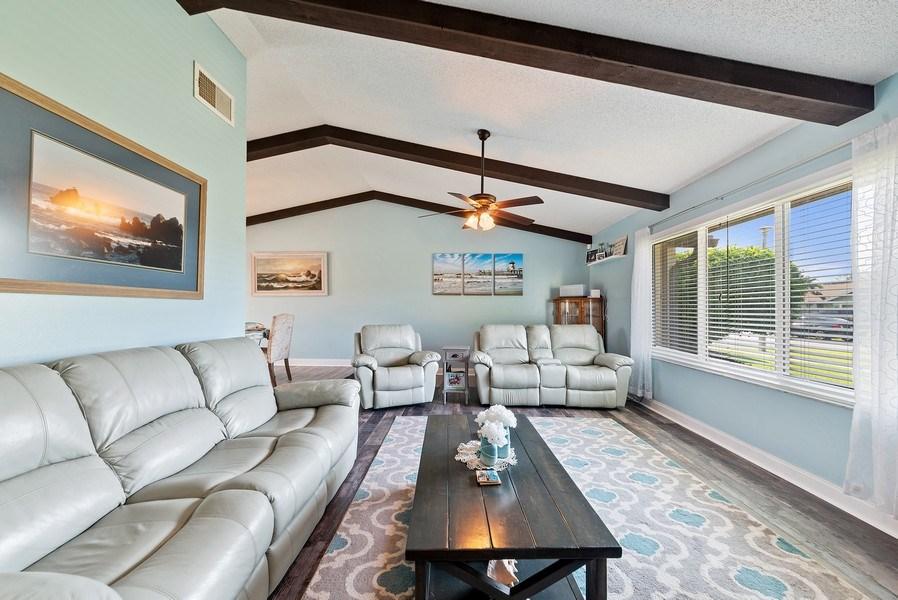 Real Estate Photography - 9535 Ohio Pl, Boca Raton, FL, 33434 - Living Room