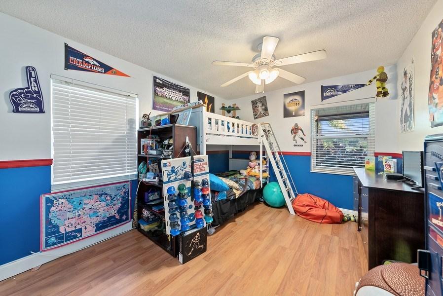 Real Estate Photography - 9535 Ohio Pl, Boca Raton, FL, 33434 - 4th Bedroom