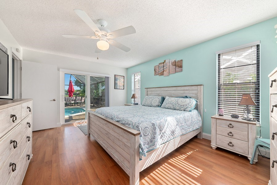 Real Estate Photography - 9535 Ohio Pl, Boca Raton, FL, 33434 - Master Bedroom
