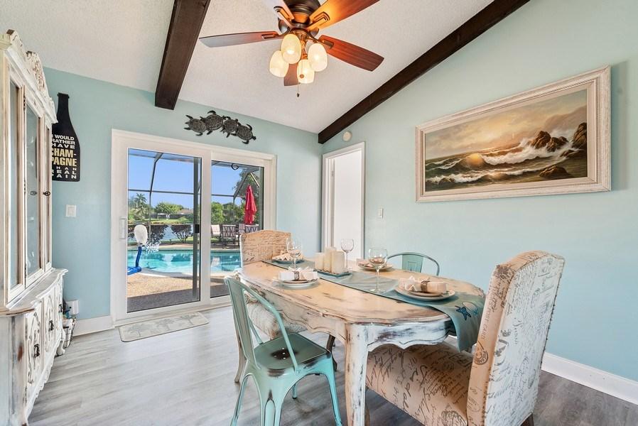 Real Estate Photography - 9535 Ohio Pl, Boca Raton, FL, 33434 - Dining Room
