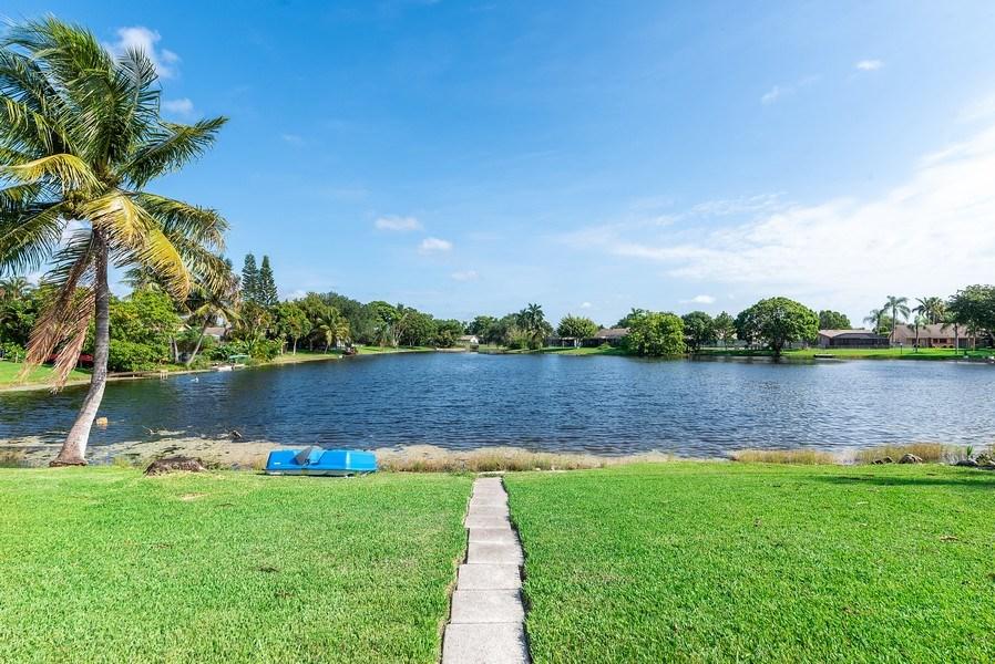 Real Estate Photography - 9535 Ohio Pl, Boca Raton, FL, 33434 - Back Yard