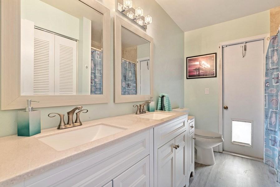 Real Estate Photography - 9535 Ohio Pl, Boca Raton, FL, 33434 - Bathroom