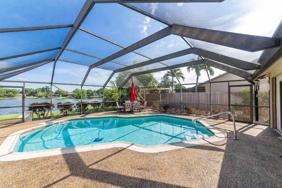 Real Estate Photography - 9535 Ohio Pl, Boca Raton, FL, 33434 - Patio