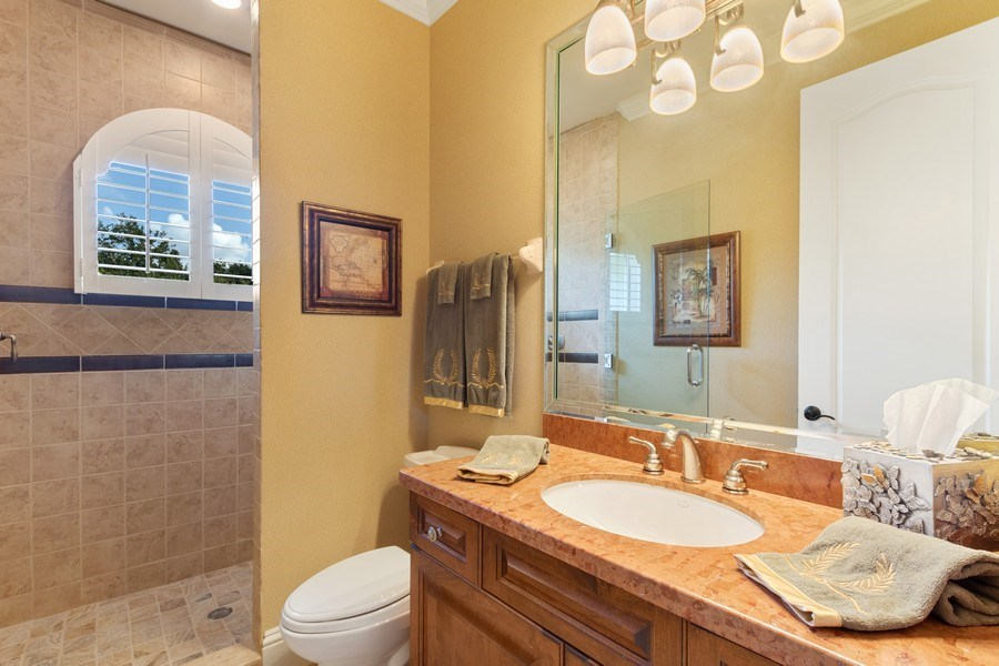 Real Estate Photography - 9311 Vittoria Ct., Fort Myers, FL, 33912 - 3rd Bathroom