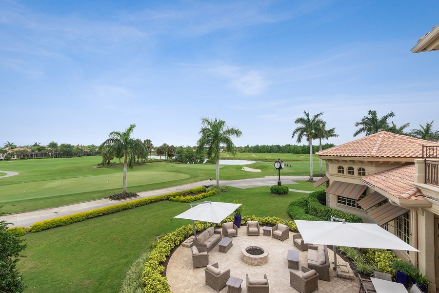 Real Estate Photography - 9311 Vittoria Ct., Fort Myers, FL, 33912 - Golf Course