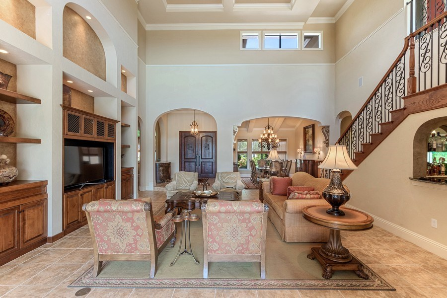 Real Estate Photography - 9311 Vittoria Ct., Fort Myers, FL, 33912 - Living Room