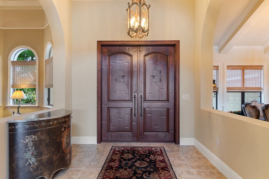 Real Estate Photography - 9311 Vittoria Ct., Fort Myers, FL, 33912 - Foyer