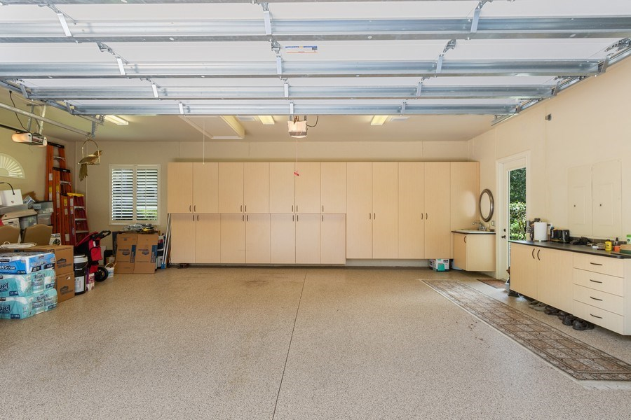 Real Estate Photography - 9311 Vittoria Ct., Fort Myers, FL, 33912 - Garage