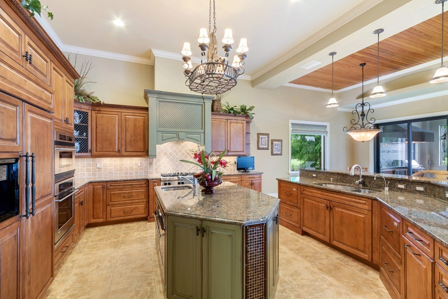 Real Estate Photography - 9311 Vittoria Ct., Fort Myers, FL, 33912 - Kitchen