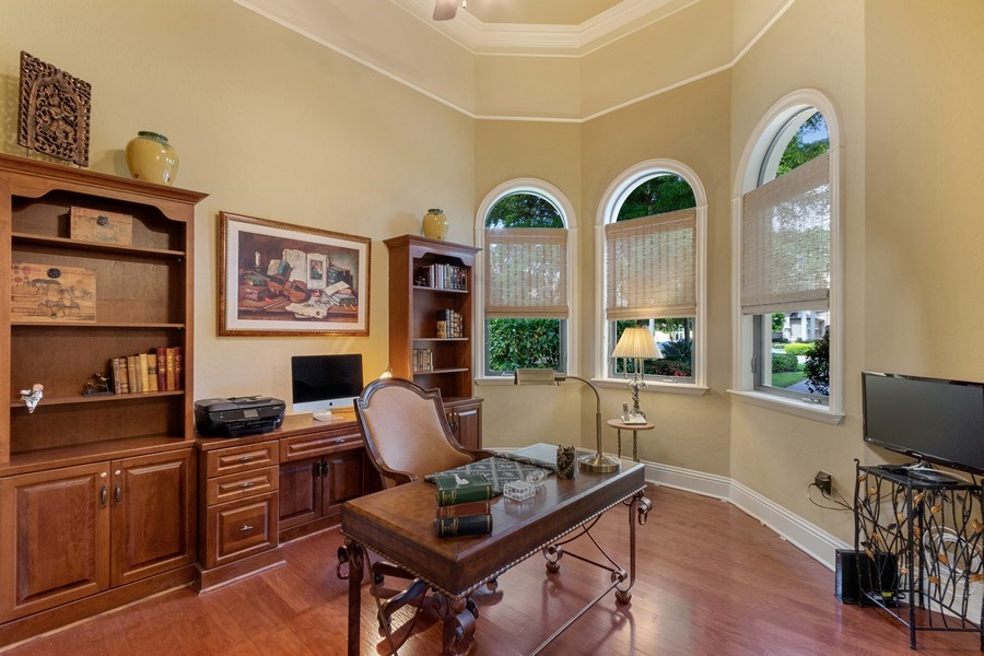 Real Estate Photography - 9311 Vittoria Ct., Fort Myers, FL, 33912 - Den