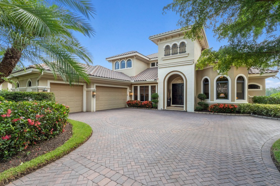 Real Estate Photography - 9311 Vittoria Ct., Fort Myers, FL, 33912 - Front View