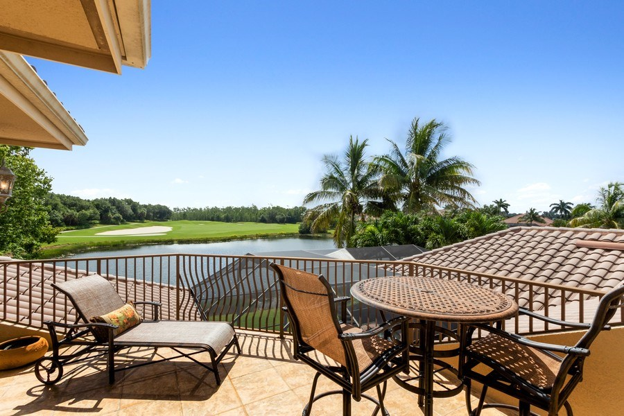 Real Estate Photography - 9311 Vittoria Ct., Fort Myers, FL, 33912 - Deck