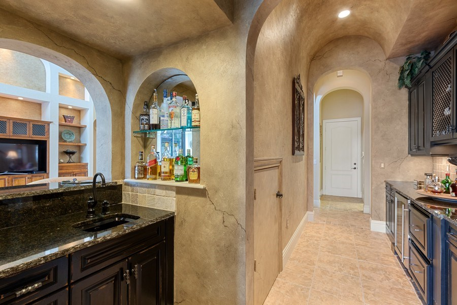 Real Estate Photography - 9311 Vittoria Ct., Fort Myers, FL, 33912 - Bar