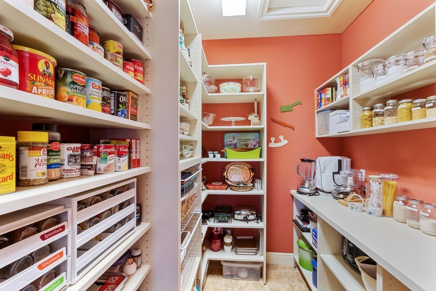 Real Estate Photography - 9311 Vittoria Ct., Fort Myers, FL, 33912 - Pantry