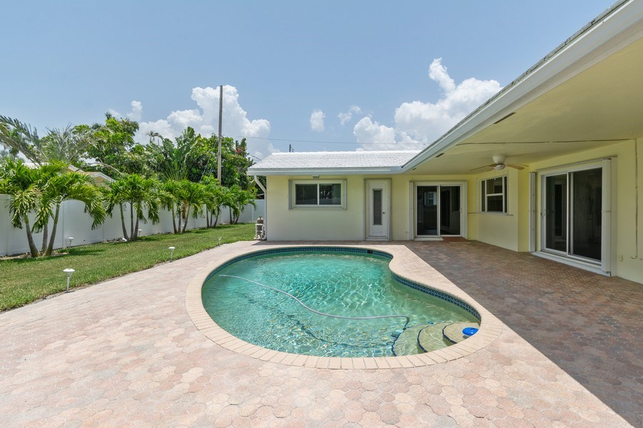 Real Estate Photography - 2150 NE 65th Ct, Fort Lauderdale, FL, 33308 - Pool