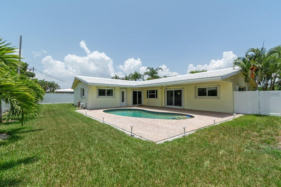 Real Estate Photography - 2150 NE 65th Ct, Fort Lauderdale, FL, 33308 - Rear View