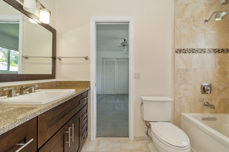 Real Estate Photography - 2150 NE 65th Ct, Fort Lauderdale, FL, 33308 - Bathroom
