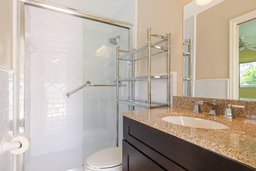 Real Estate Photography - 2150 NE 65th Ct, Fort Lauderdale, FL, 33308 - 2nd Bathroom
