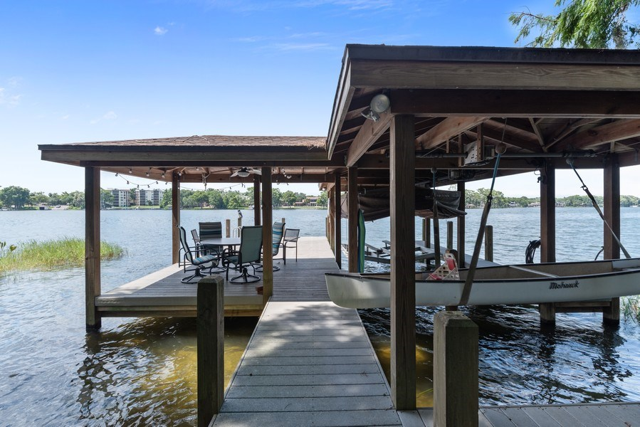 Real Estate Photography - 1301 AZALEA LANE, MAITLAND, FL, 32751 - Dock