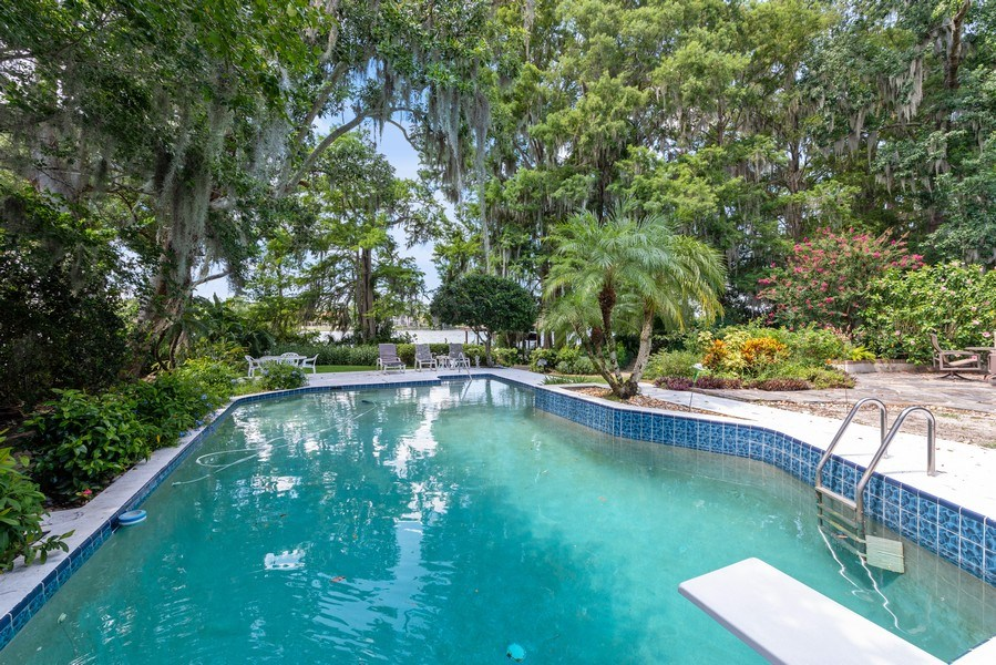 Real Estate Photography - 1301 AZALEA LANE, MAITLAND, FL, 32751 - Pool
