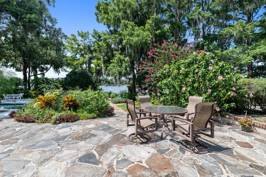 Real Estate Photography - 1301 AZALEA LANE, MAITLAND, FL, 32751 - Patio