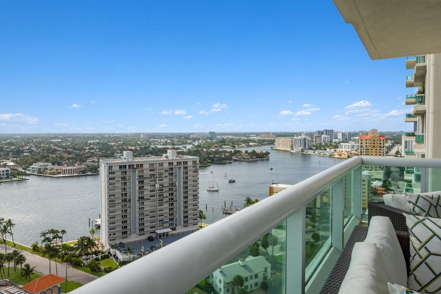 Real Estate Photography - 101 S. Fort Lauderdale Beach Blvd, APARTMENT 2107, FORT LAUDERDALE, FL, 33316 - View