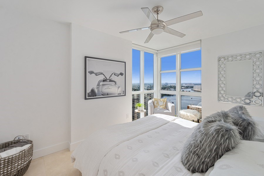 Real Estate Photography - 101 S. Fort Lauderdale Beach Blvd, APARTMENT 2107, FORT LAUDERDALE, FL, 33316 - 2nd Bedroom