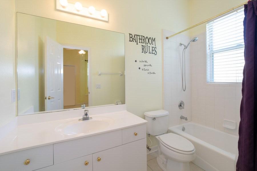 Real Estate Photography - 445 Hightower, DeBary, FL, 32713 - 3rd Bathroom