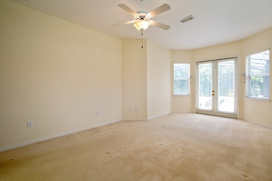 Real Estate Photography - 445 Hightower, DeBary, FL, 32713 - Master Bedroom