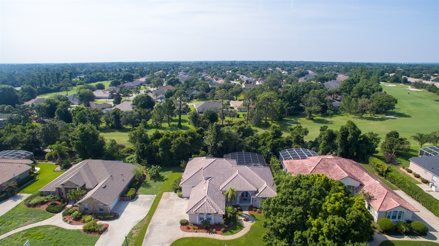 Real Estate Photography - 445 Hightower, DeBary, FL, 32713 - Aerial View