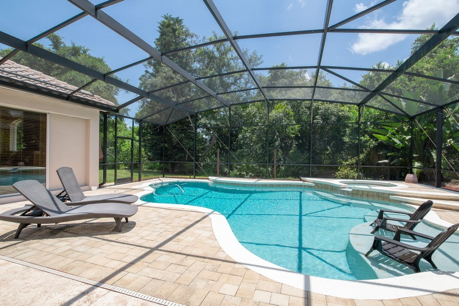 Real Estate Photography - 445 Hightower, DeBary, FL, 32713 - Pool