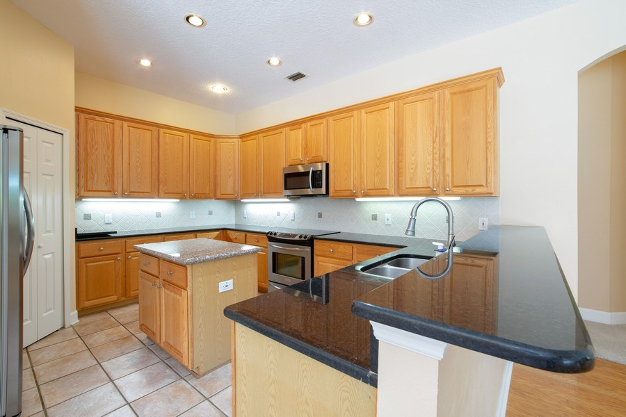 Real Estate Photography - 445 Hightower, DeBary, FL, 32713 - Kitchen