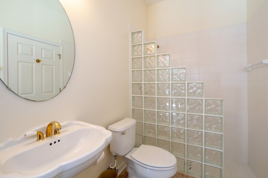 Real Estate Photography - 445 Hightower, DeBary, FL, 32713 - 2nd Bathroom