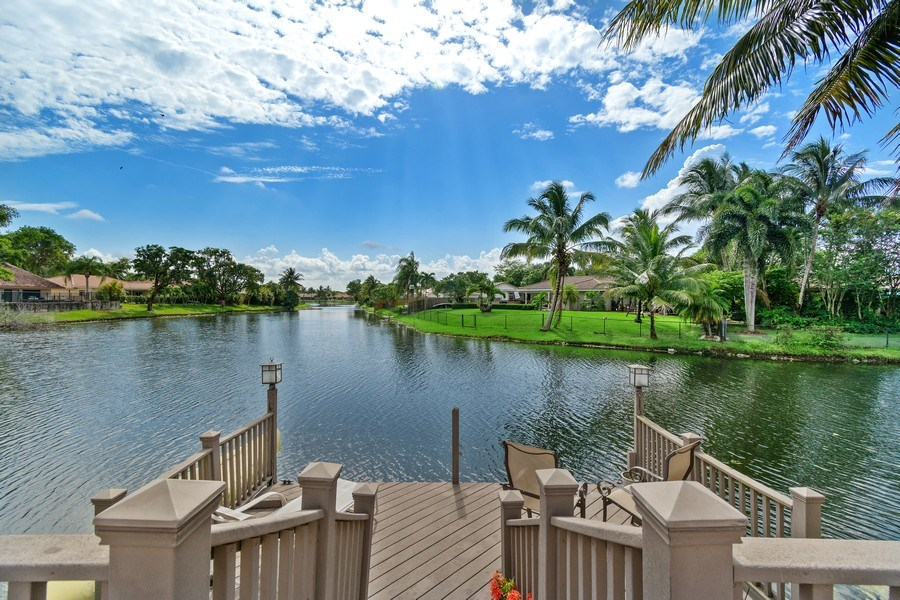 Real Estate Photography - 1430 NW 99th Ave, Plantation,, FL, 33322 - Dock