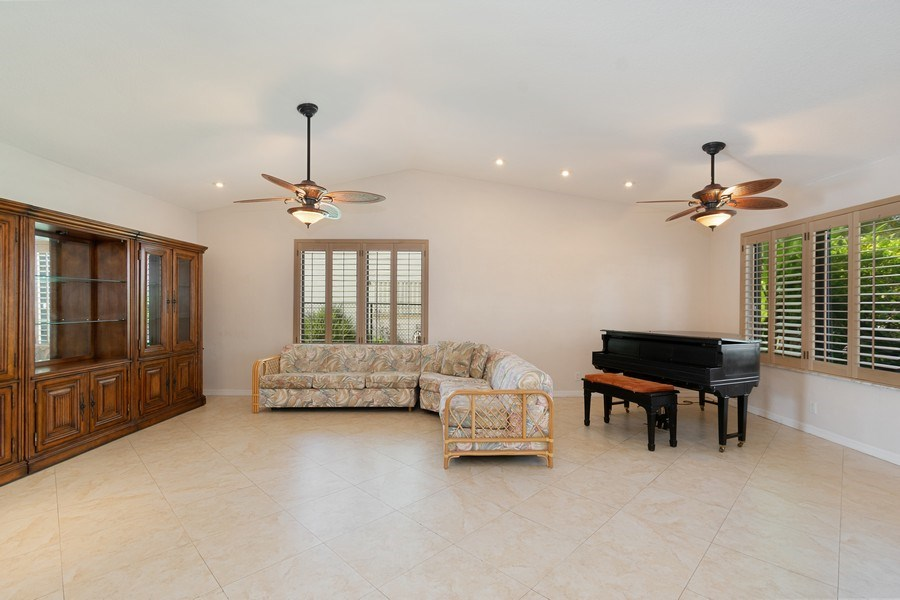 Real Estate Photography - 1430 NW 99th Ave, Plantation,, FL, 33322 - Living Room / Dining Room