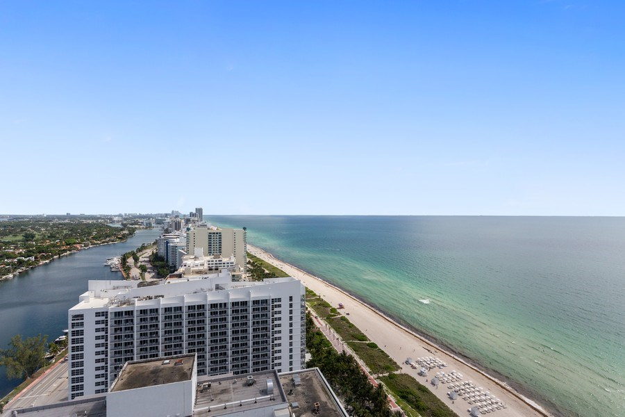 Real Estate Photography - 4779 Collins Ave, Unit 3408, Miami Beach, FL, 33140 - View
