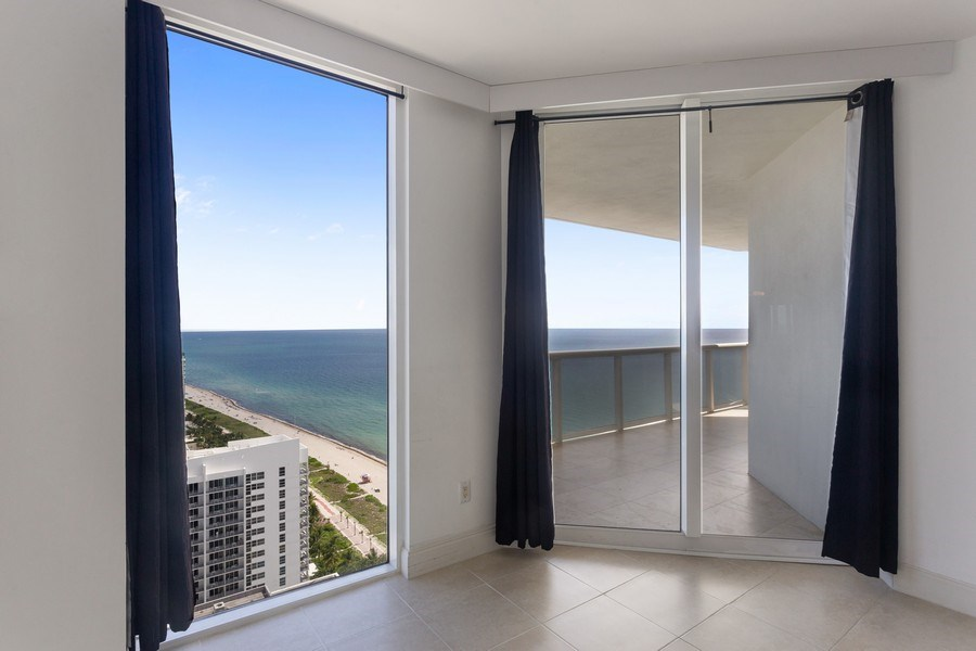 Real Estate Photography - 4779 Collins Ave, Unit 3408, Miami Beach, FL, 33140 - Master Bedroom
