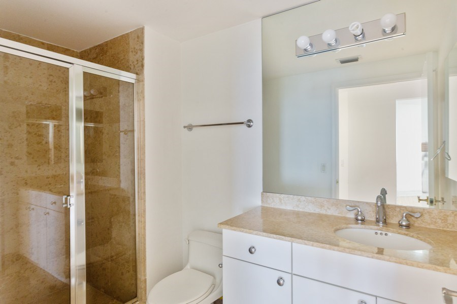 Real Estate Photography - 4779 Collins Ave, Unit 3408, Miami Beach, FL, 33140 - 2nd Bathroom
