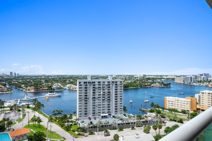 Real Estate Photography - 101 S Fort Lauderdale Beach Blvd, Apt 1803, Fort Lauderdale, FL, 33301 - View