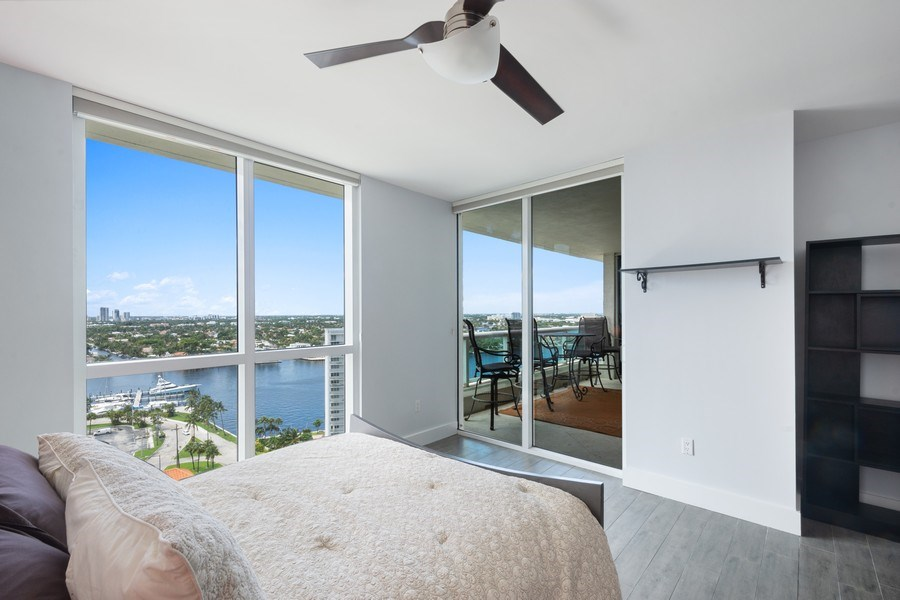 Real Estate Photography - 101 S Fort Lauderdale Beach Blvd, Apt 1803, Fort Lauderdale, FL, 33301 - 2nd Bedroom