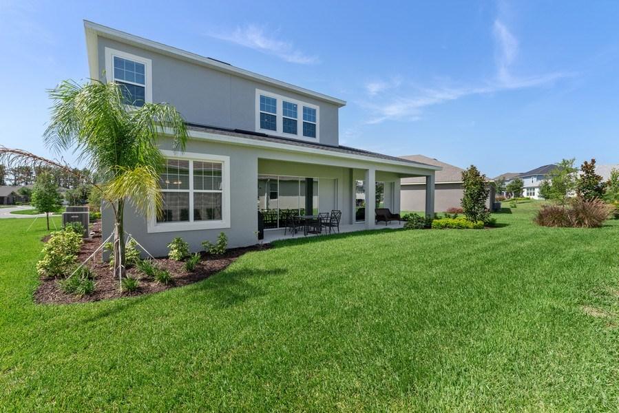 Real Estate Photography - 13647 Killefew Way, Winter Garden, FL, 34787 - Rear View