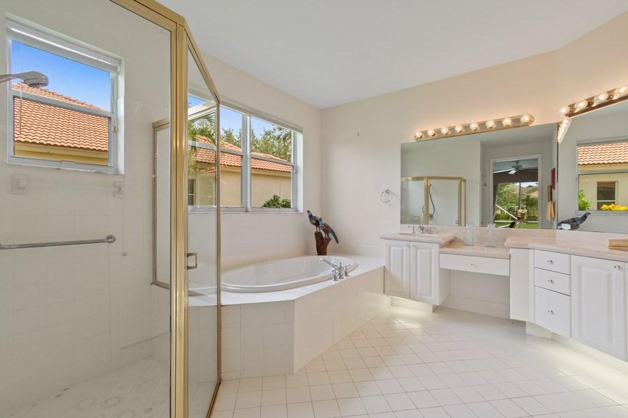 Real Estate Photography - 3741 E Lake Estates Drive, Davie, FL, 33328 - Master Bathroom